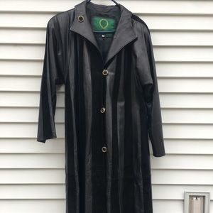 Jackets & Blazers - Vintage handmade Italian suede and leather duster